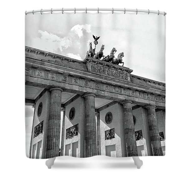 Brandenburg Gate - Berlin Shower Curtain