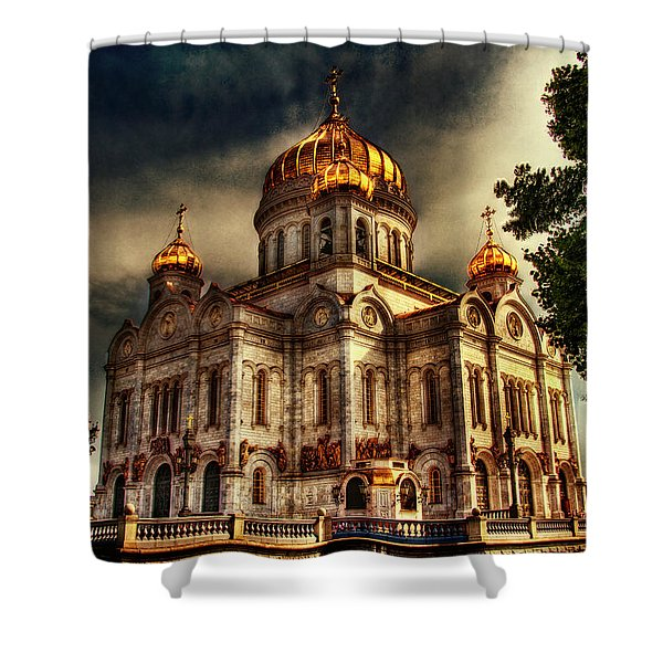 Building Shower Curtain