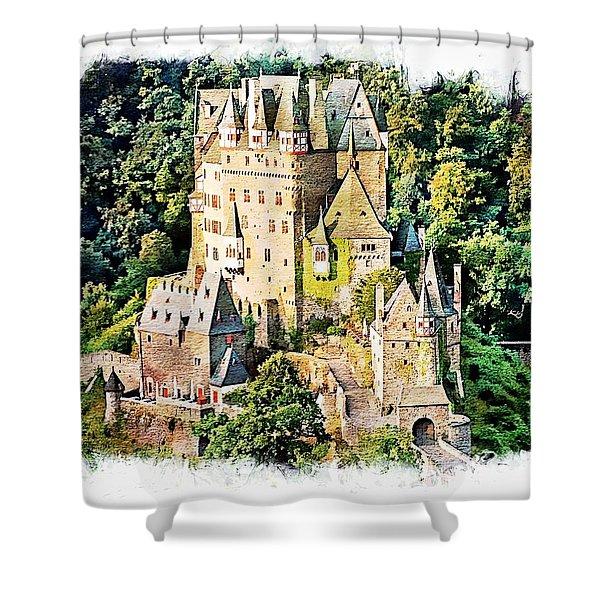 Burg Eltz - Moselle Shower Curtain