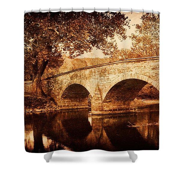 Burnside Bridge Shower Curtain
