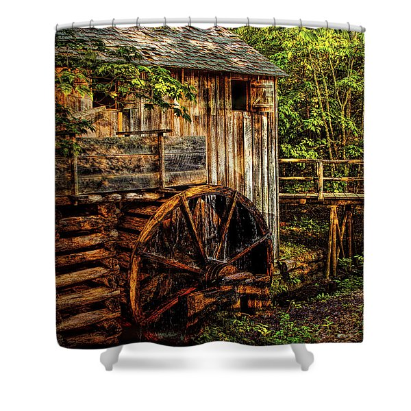 Cades Cove Mill Shower Curtain