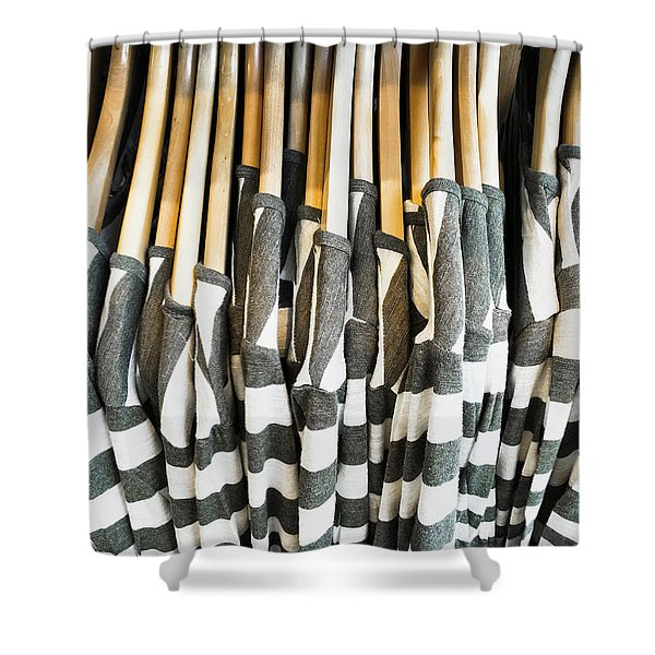Casual Tops Shower Curtain