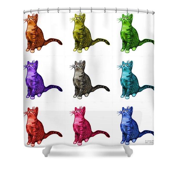 Cat Art - 3771 Bb Shower Curtain