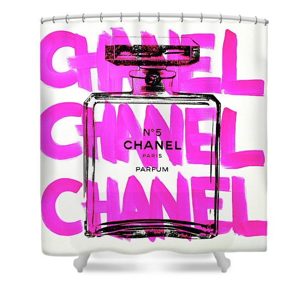 Chanel Chanel Chanel  Shower Curtain