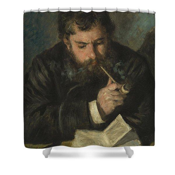 Claude Monet Shower Curtain