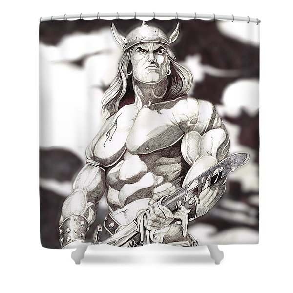 Conan The Barbarian Shower Curtain