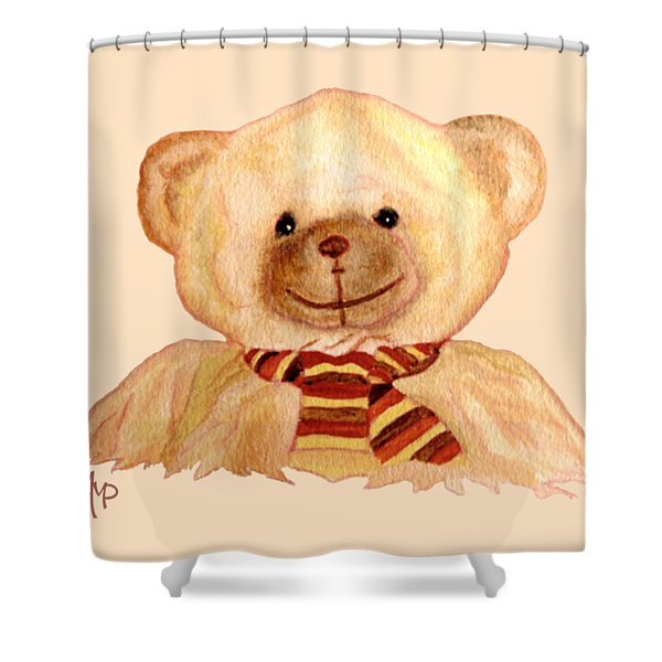 Cuddly Bear Shower Curtain