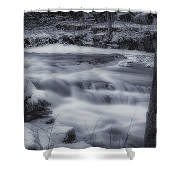 Devils River #1 Shower Curtain
