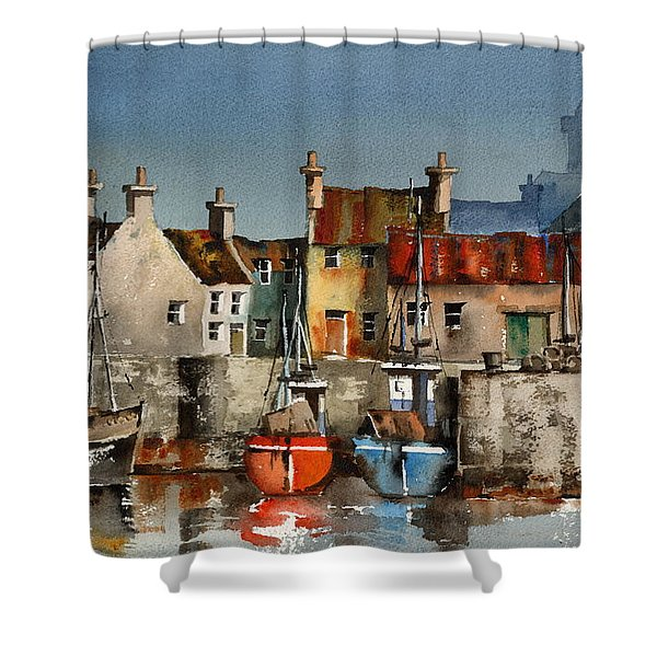 Dingle Harbour, Kerry Shower Curtain