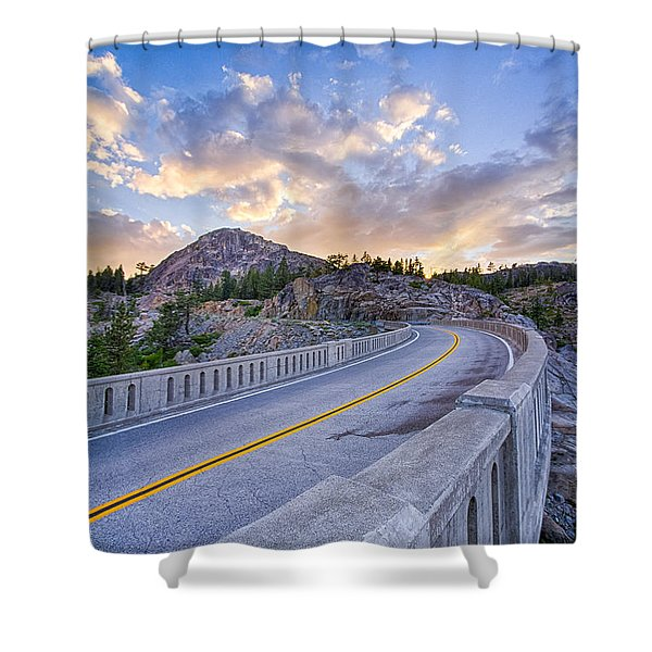 Donner Memorial Bridge Shower Curtain