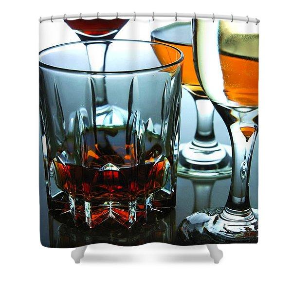 Drinks Shower Curtain
