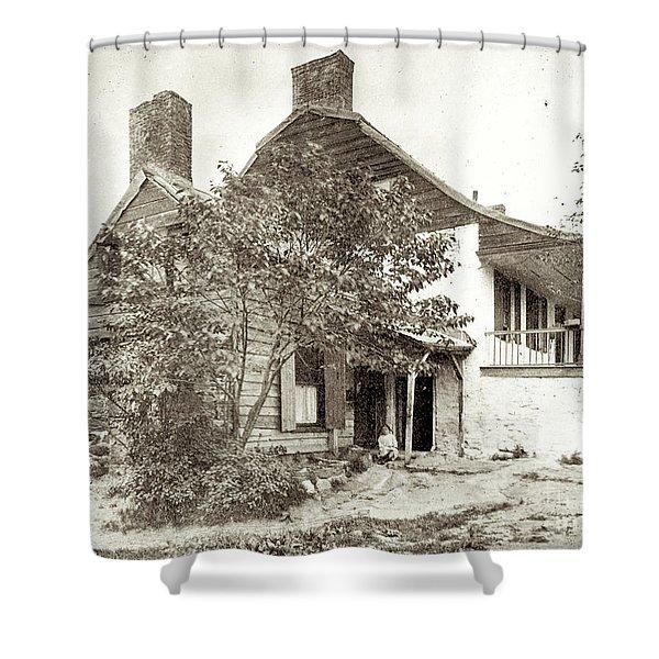 Dyckman House Shower Curtain