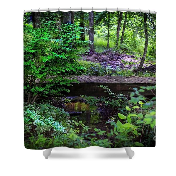 Forest Environment Shower Curtain