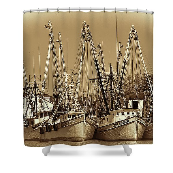 Georgetown Shrimpers Shower Curtain