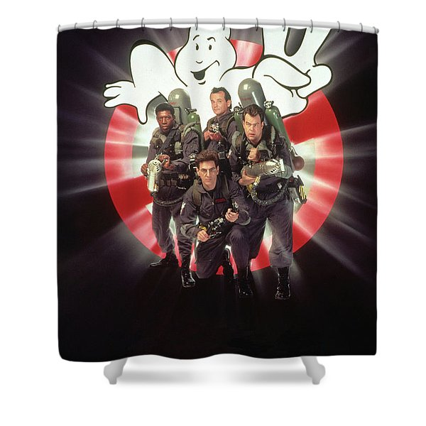 Ghostbusters II 1989  Shower Curtain