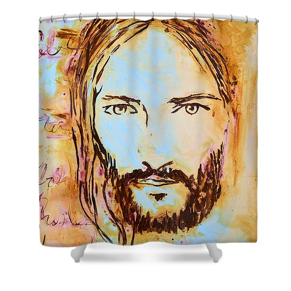 God Loves You Shower Curtain