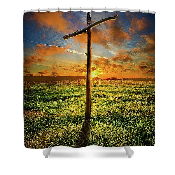 Good Friday Shower Curtain