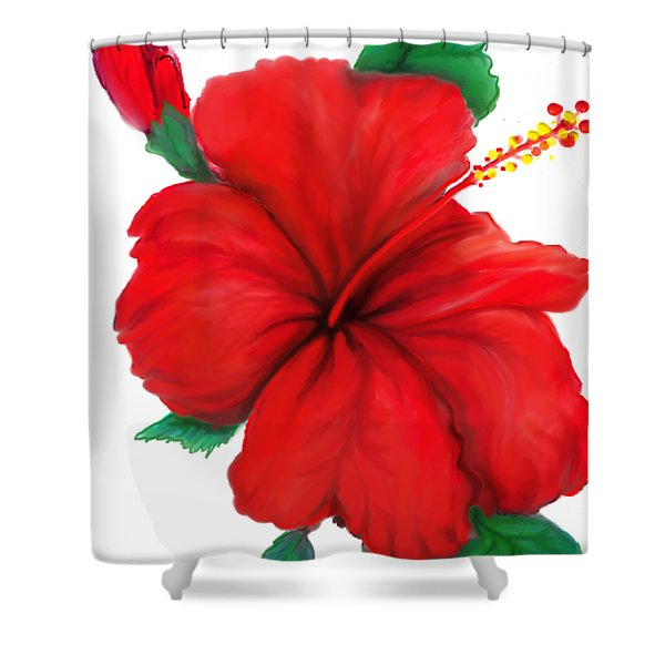 Greeting Cards Shower Curtain