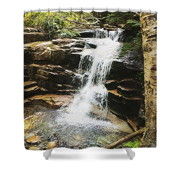 Hiking New Hampshire Shower Curtain