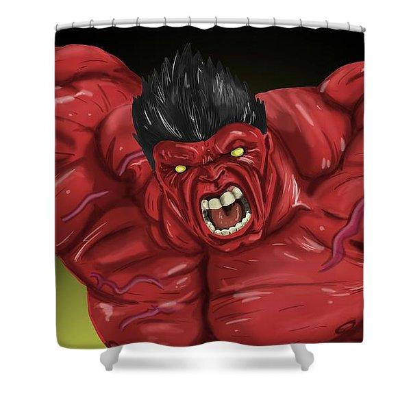 Hulk Shower Curtain