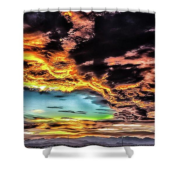 I Am That I Am Shower Curtain