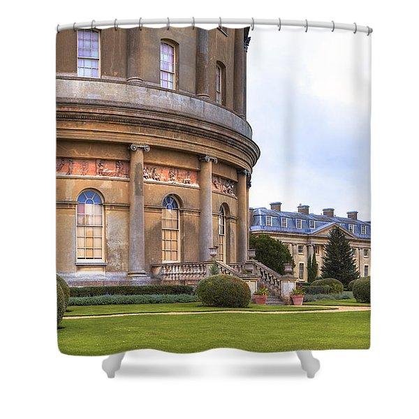 Ickworth House - England Shower Curtain