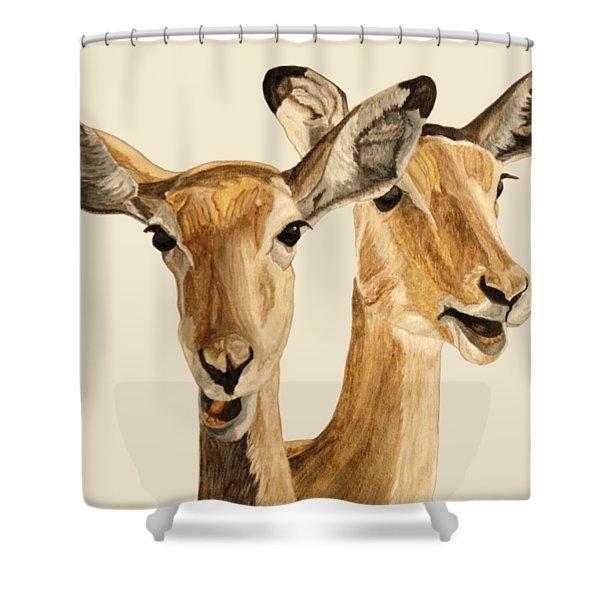 Impalas Shower Curtain
