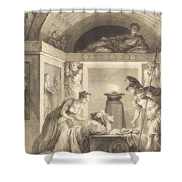 La Matrone D'ephese Shower Curtain