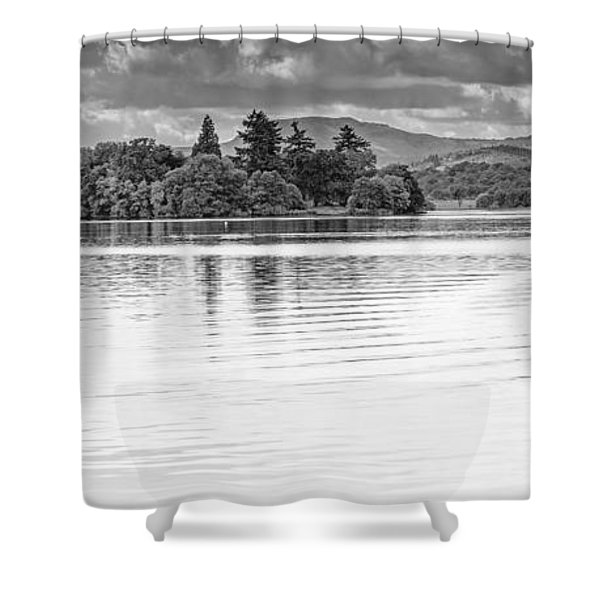 Lake Of Menteith Shower Curtain