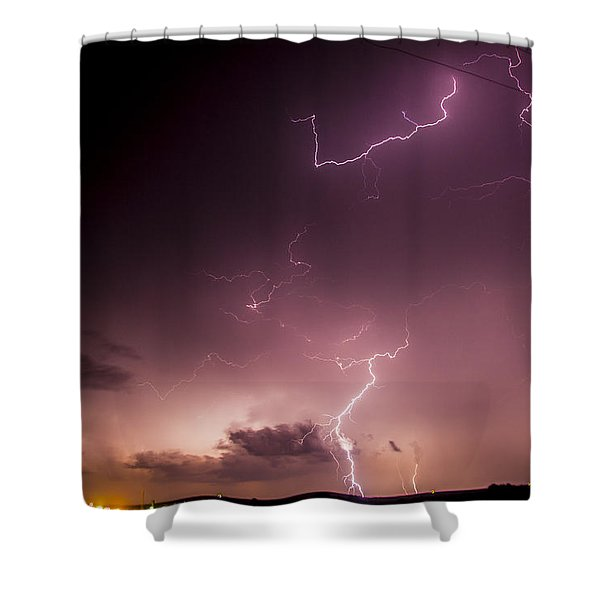 Late July Storm Chasing 057 Shower Curtain