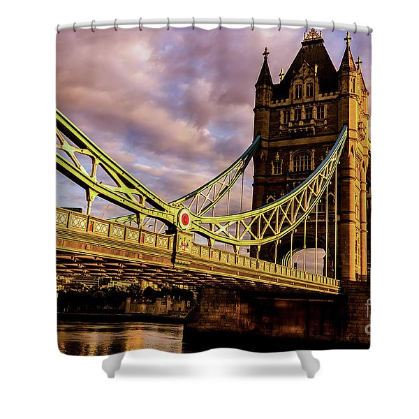 London Tower Bridge. Shower Curtain