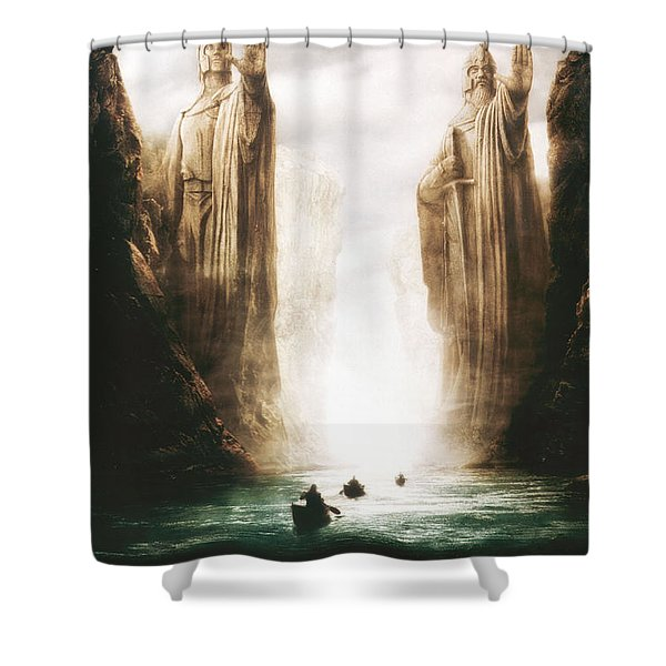 Lord Of The Rings The Fellowship Of The Ring 2001  Shower Curtain