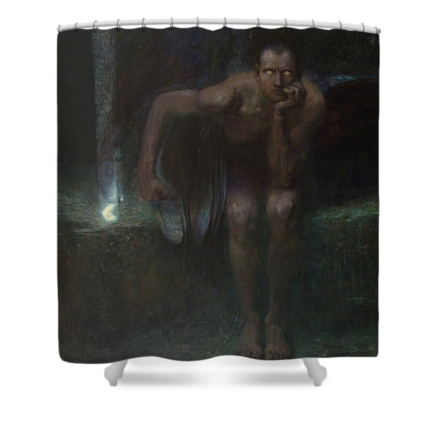 Lucifer Shower Curtain