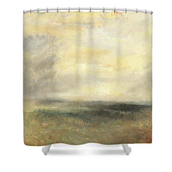 Margate, From The Sea Shower Curtain