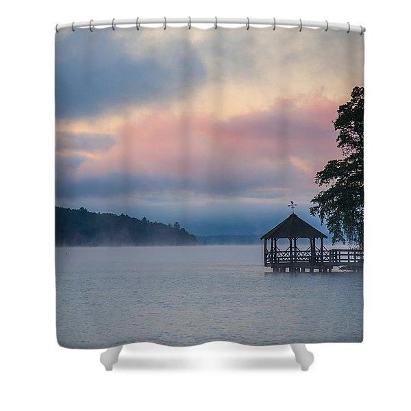 Meredith New Hampshire Shower Curtain