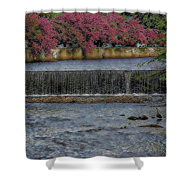 Mill River Park Shower Curtain