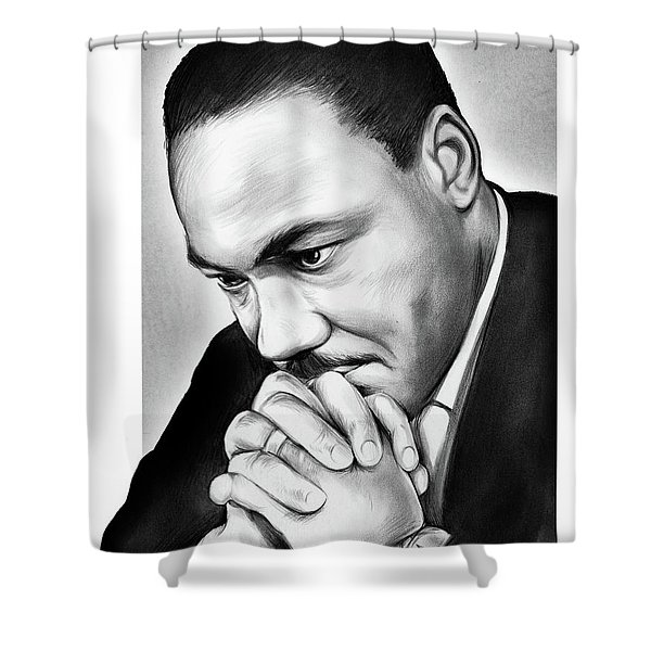 MLK Shower Curtain