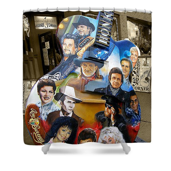 Nashville Honky Tonk Shower Curtain