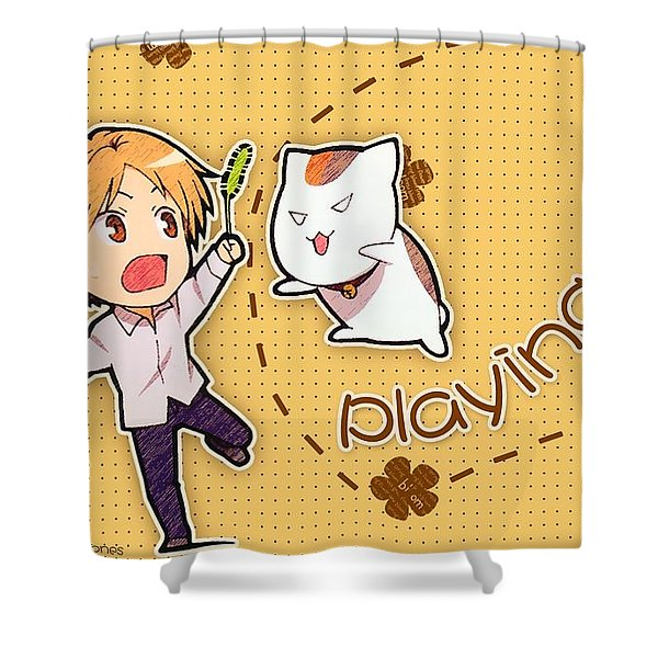 Natsume's Book Of Friends Shower Curtain