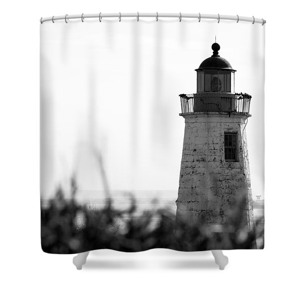 Old Point Comfort Lighthouse Shower Curtain