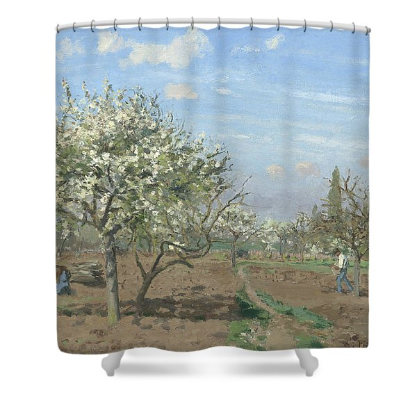 Orchard In Bloom Shower Curtain