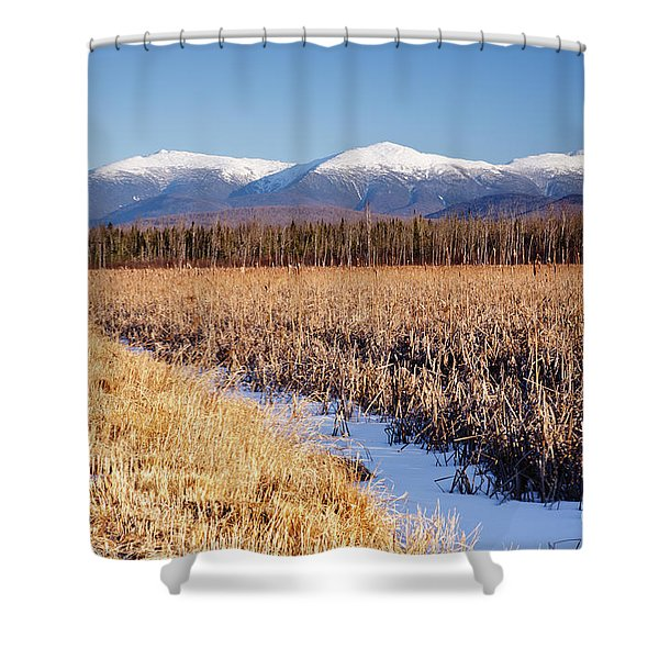 Shower Curtain featuring the photograph Pondicherry Wildlife Refuge - Jefferson New Hampshire by Erin Paul Donovan