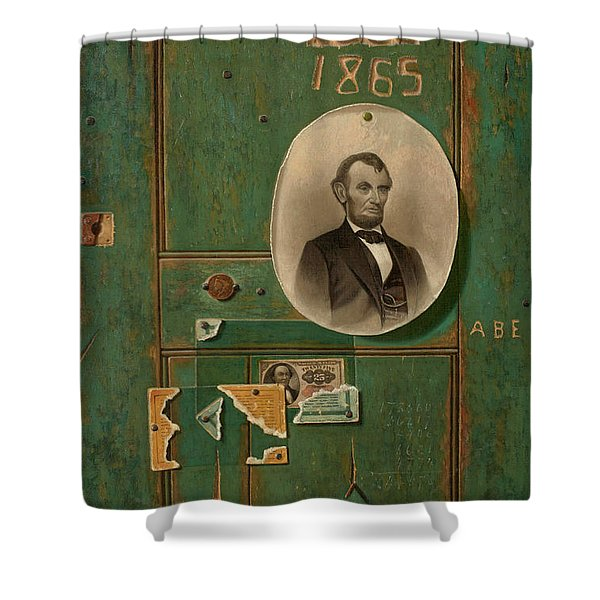 Reminiscences Of 1865 Shower Curtain