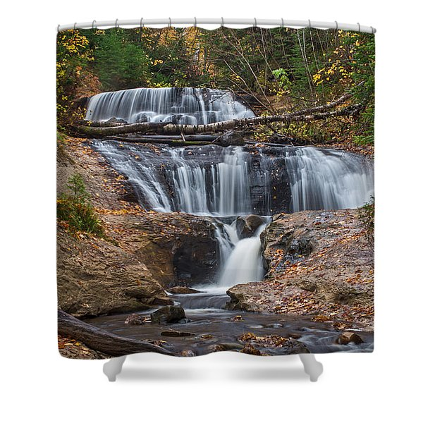 Sable Falls Shower Curtain