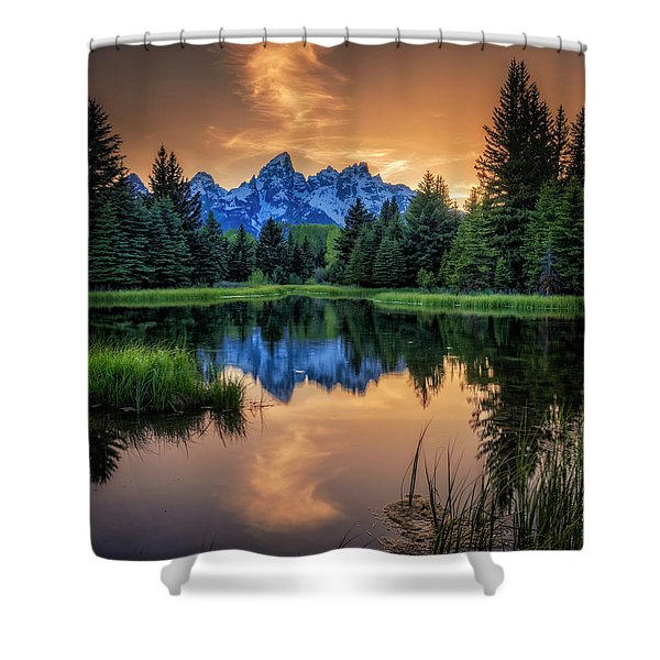 Schwabacher's Ghost Shower Curtain