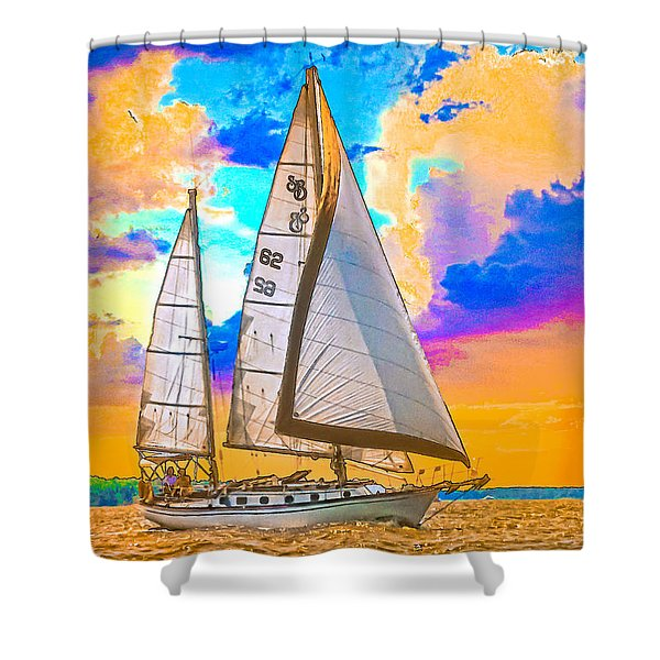 Shannon 38 Shower Curtain