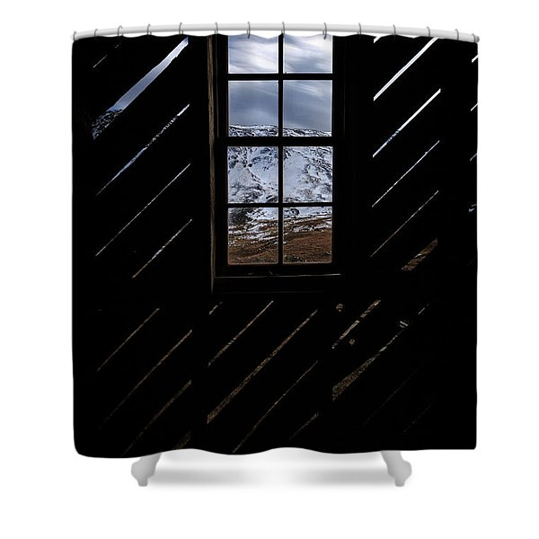 Sound Democrat Mill Shower Curtain
