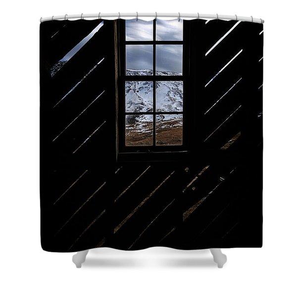 Sound Democrat Mill Shower Curtain