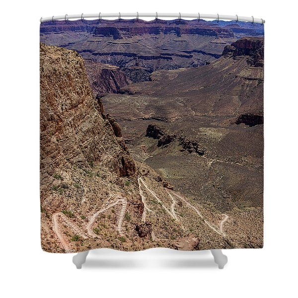 South Kaibab Trail Shower Curtain