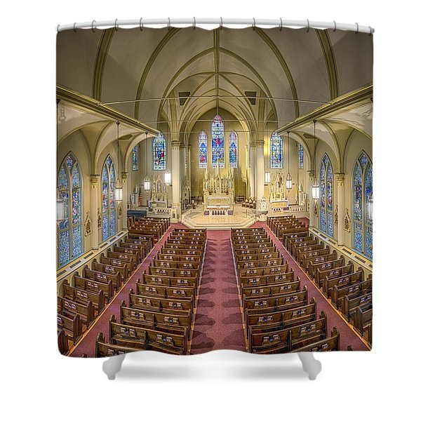St. Francis Xavier Cathedral Shower Curtain